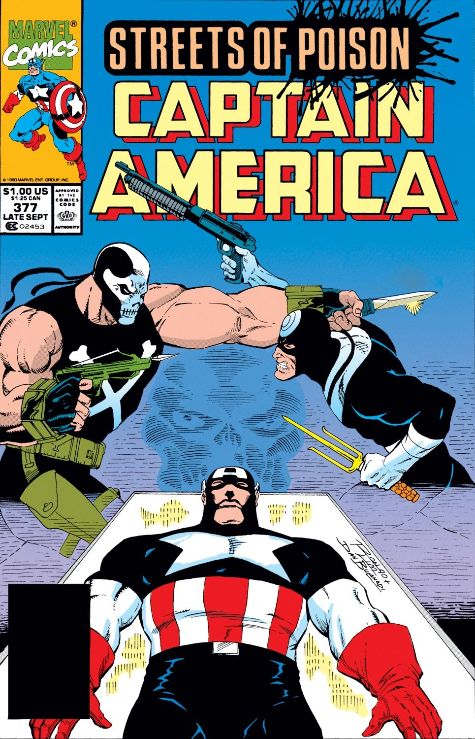 Captain America (1968) Issue #377 #310 - English 1