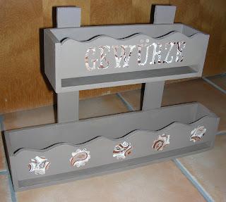 verenas kreativblog gew rzregal aus holz. Black Bedroom Furniture Sets. Home Design Ideas