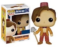 Funko Pop! Eleventh Doctor With Fez/Mop (HT)