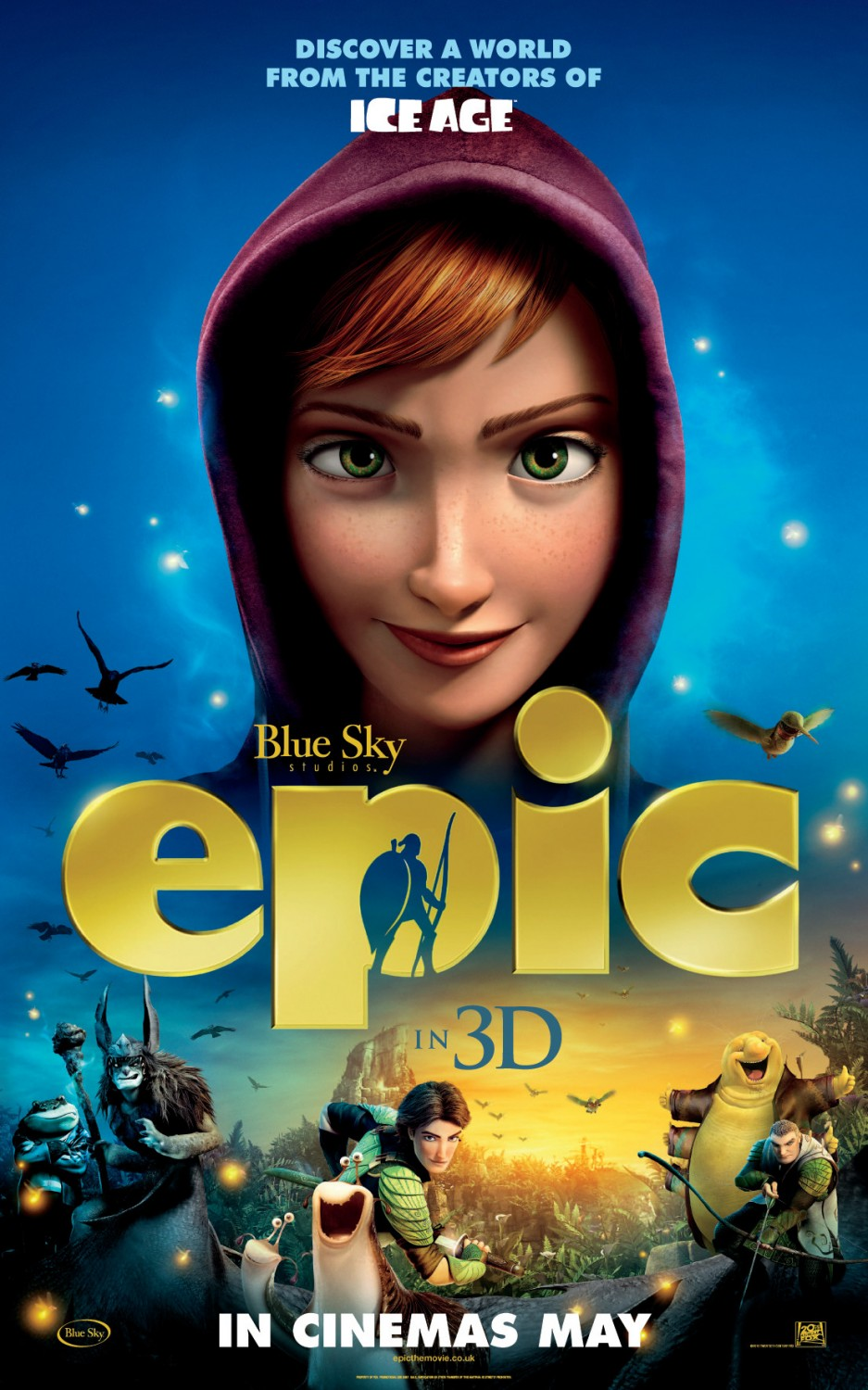 Epic Animated Movie Poster