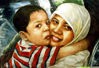 AZIZAH AND HER SON