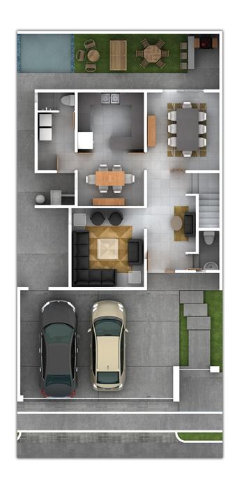 Planos de casas y plantas arquitect nicas de casas y for Carros para planos arquitectonicos
