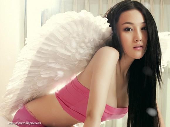 Girls Beauty Wallpaper Zhang Xinyu 25