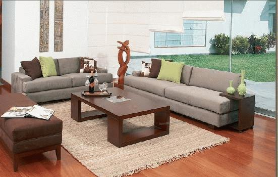 rico muebles juego de sala con mesa y otoman