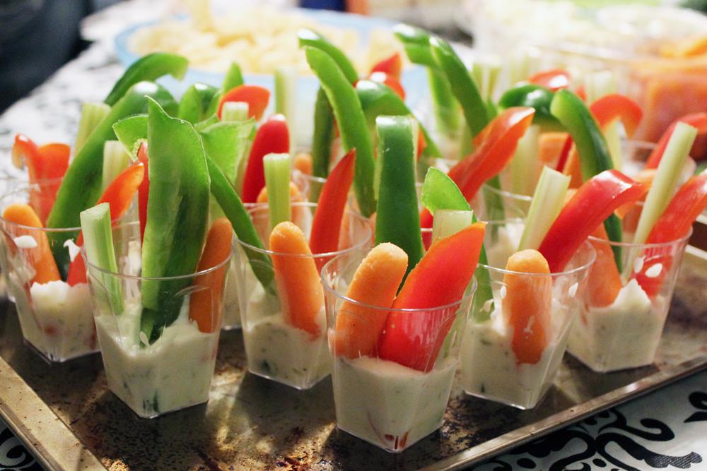 Shooter Crudité légumes trempette Goûtes-Y Blog Bouffe Foodie