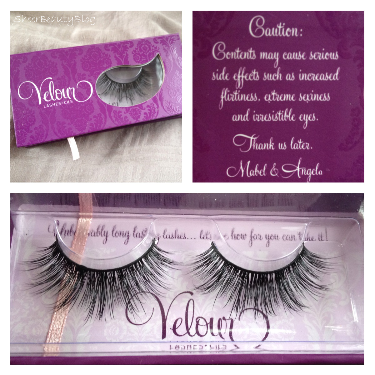 Sheer Beauty Velour Lashes Doll Me Up Review