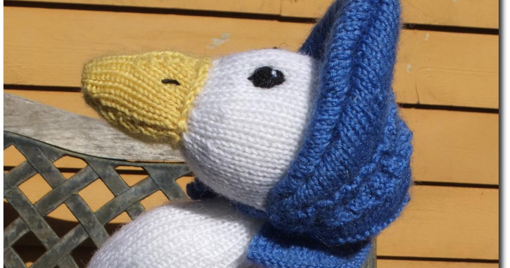 Jemima Puddle Duck Knitting Pattern : Knitty Nerd: Jemima Puddle-Duck