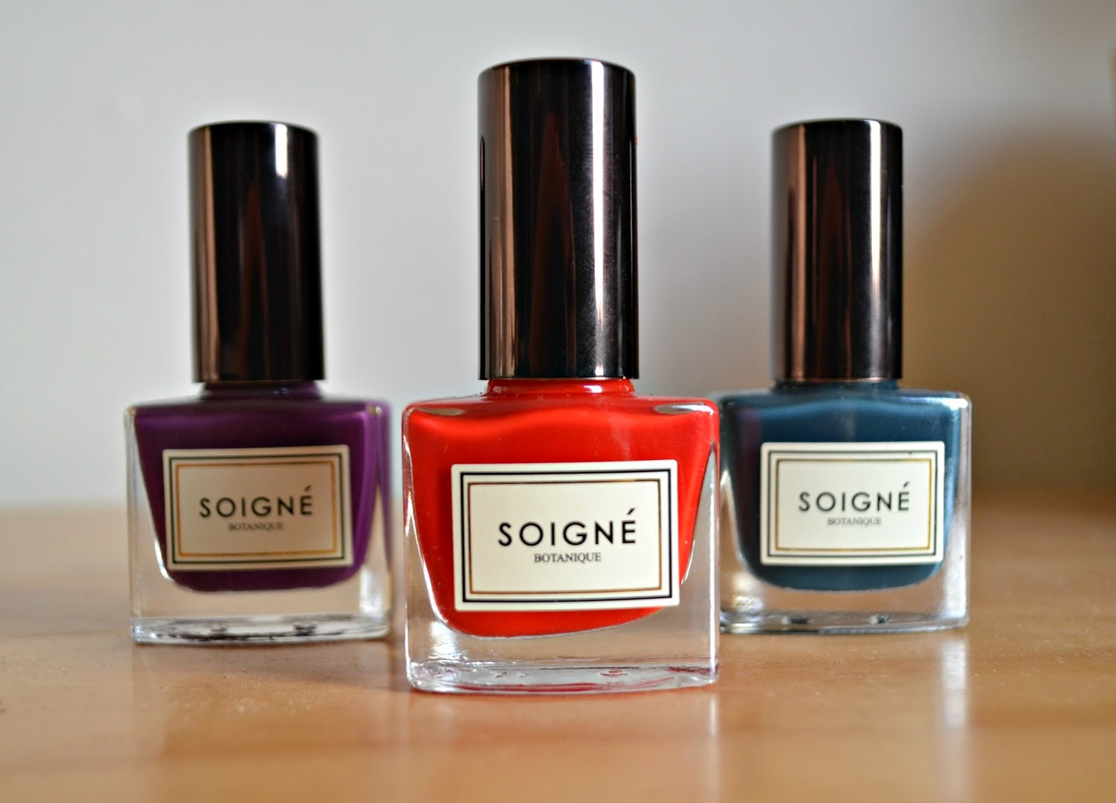 Soigne Botanique Plant-Based, Eco-Friendly Nail Polish