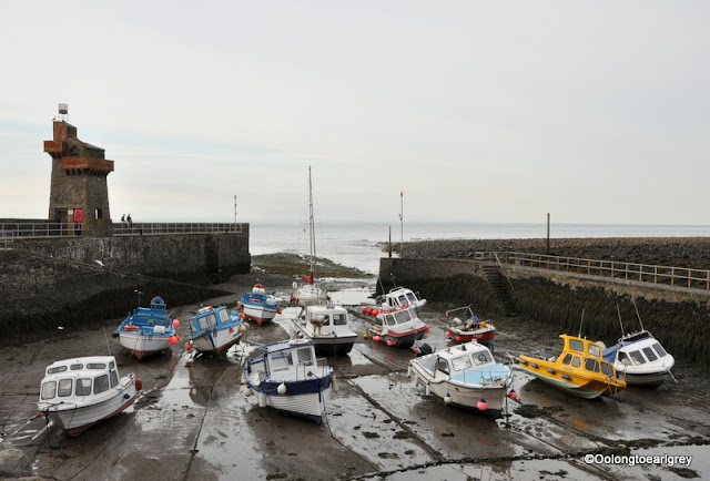 Low tide, Lynmouth, Devon