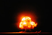 . the Jornada del Muerto Desert basin of New Mexico the first atomic bomb, . (trinity bomb test july )