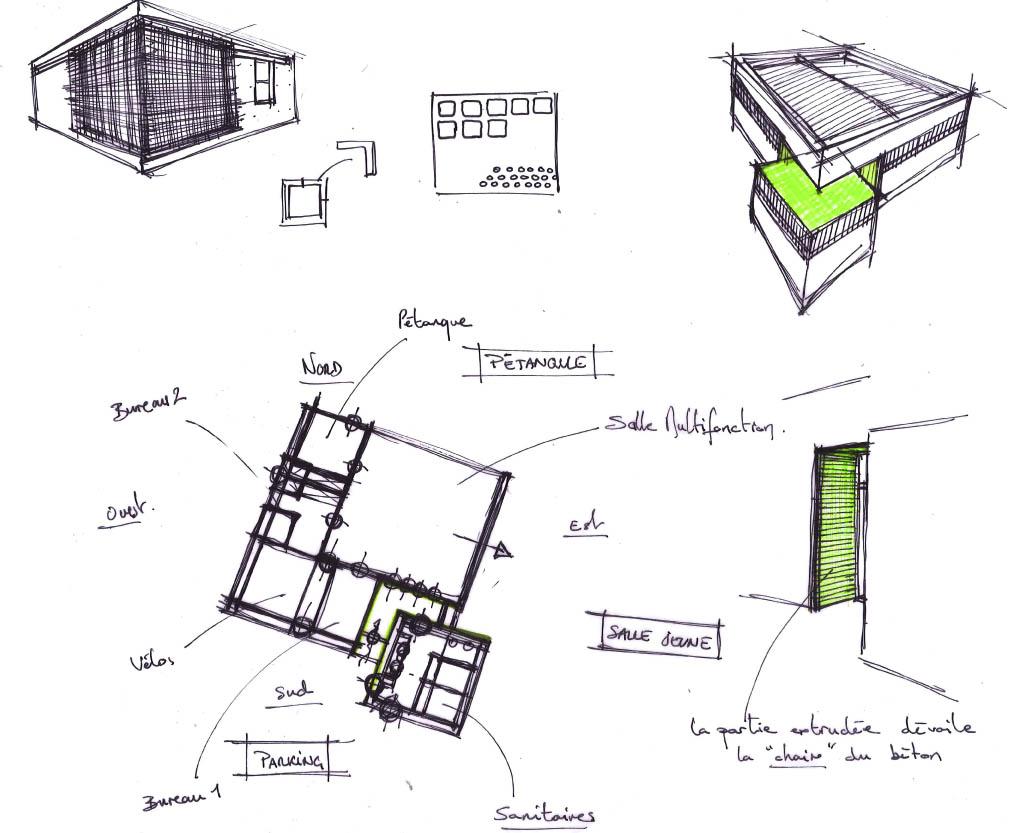 DESIGN ET ARCHITECTURE INTERIEURE: Croquis / Recherches
