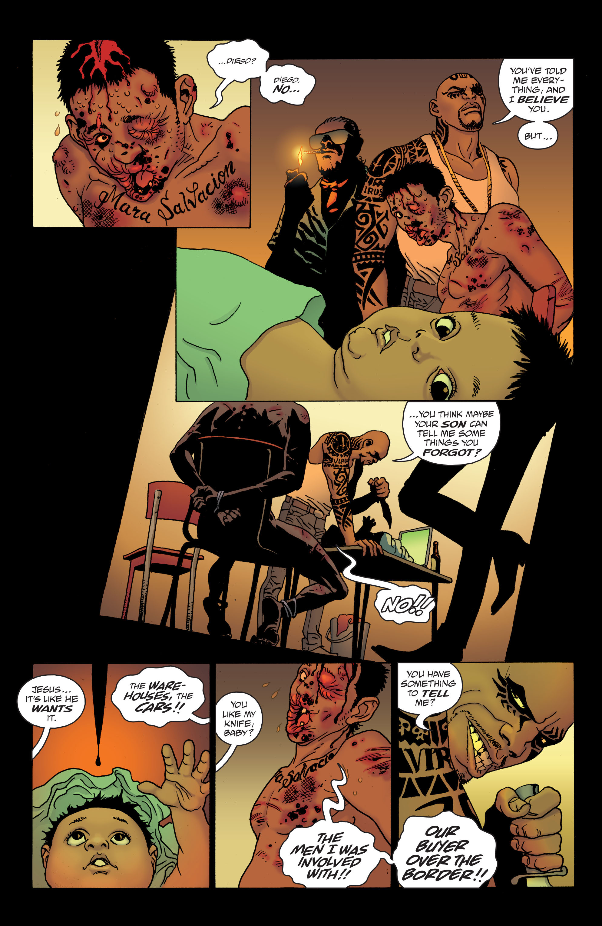 100 Bullets: Brother Lono Full Page 11