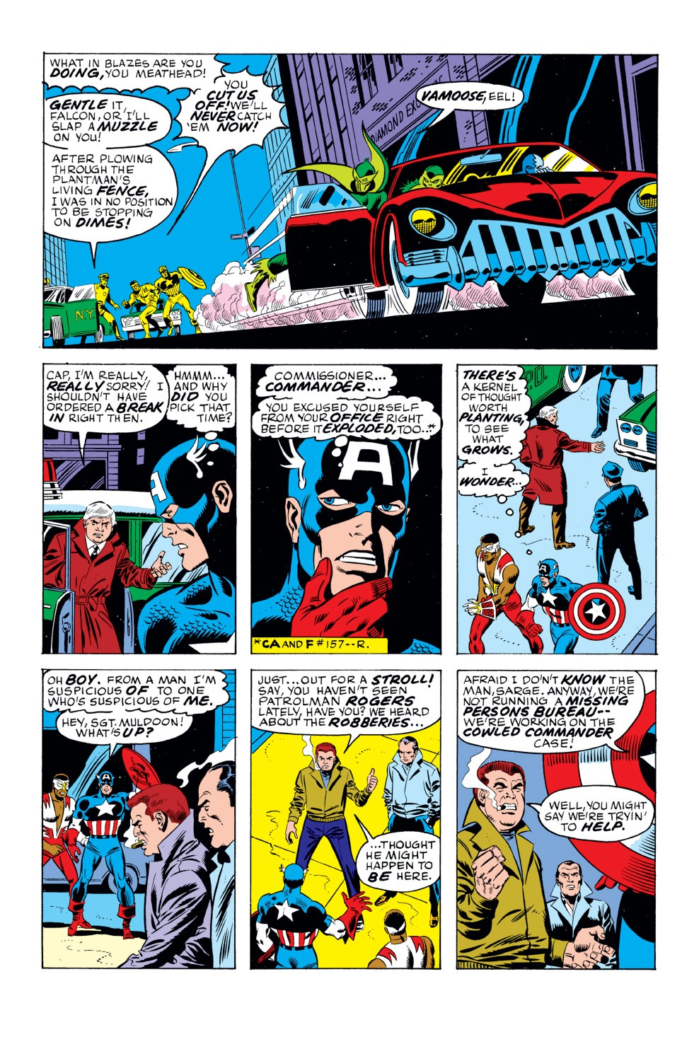 Captain America (1968) Issue #159 #73 - English 11