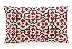Moroccan Pattern Kantha Pillow