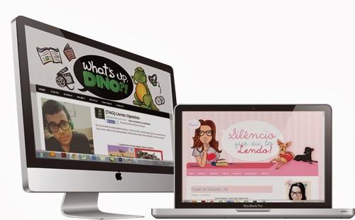 Blogs What's Up Dino (http://whatsupdino.blogspot.com.br) de Caio Martim e Silêncio que eu tô Lendo (http://www.silencioqueeutolendo.com.br/) de Clícia Godoy. Templates by Jéssica Guedes (http://www.jessicaguedes.com)