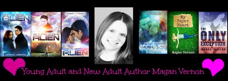 Magan Vernon-NA and YA author