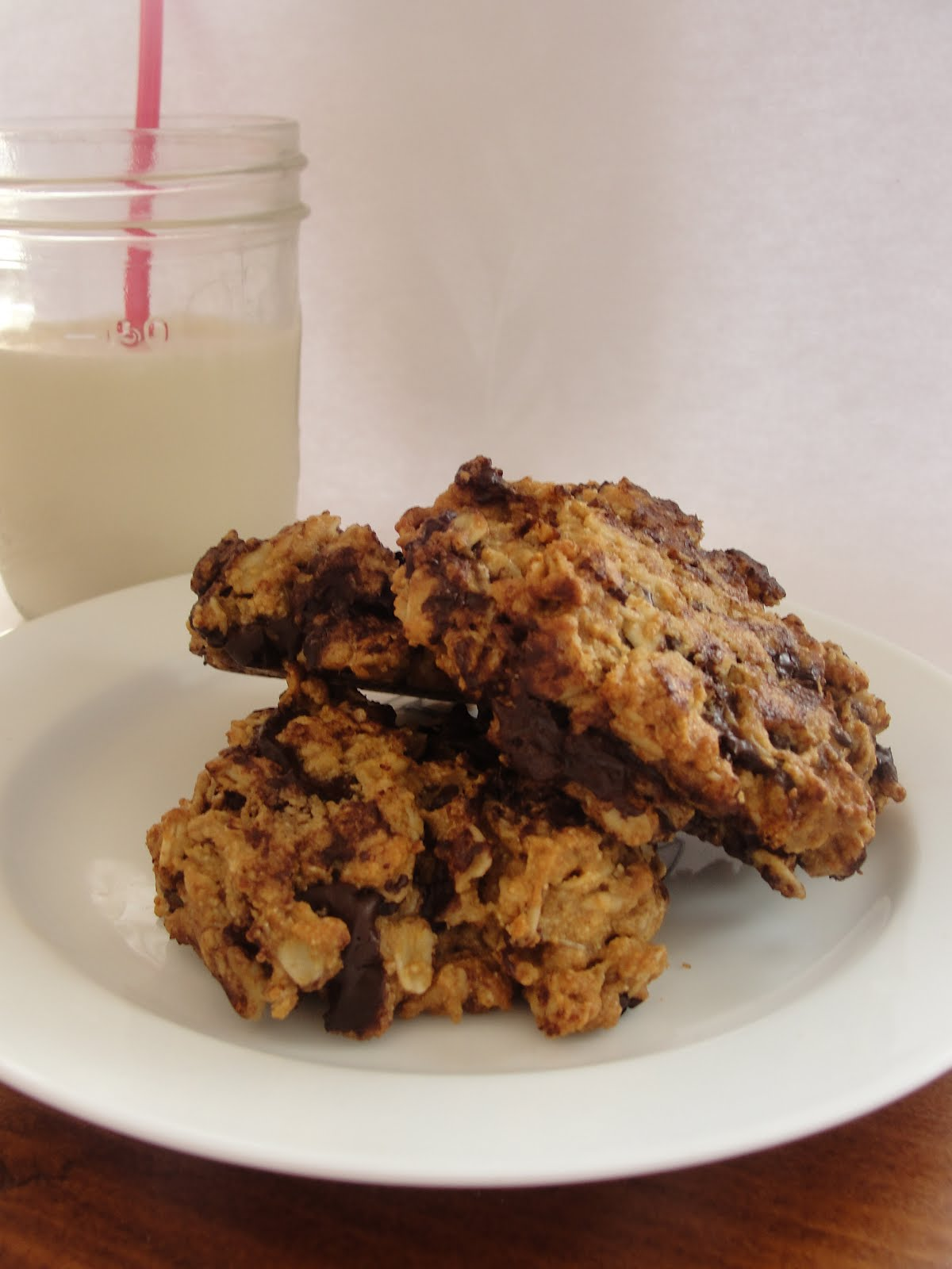 Big Life, Little Garden: Whole Wheat Honey Chocolate Chip ...