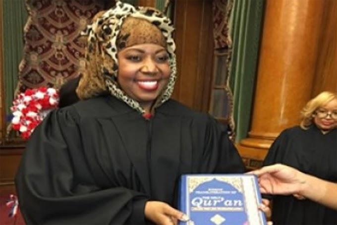 Amenazan jueza musulmana de origen africano por juramento ante el Corán