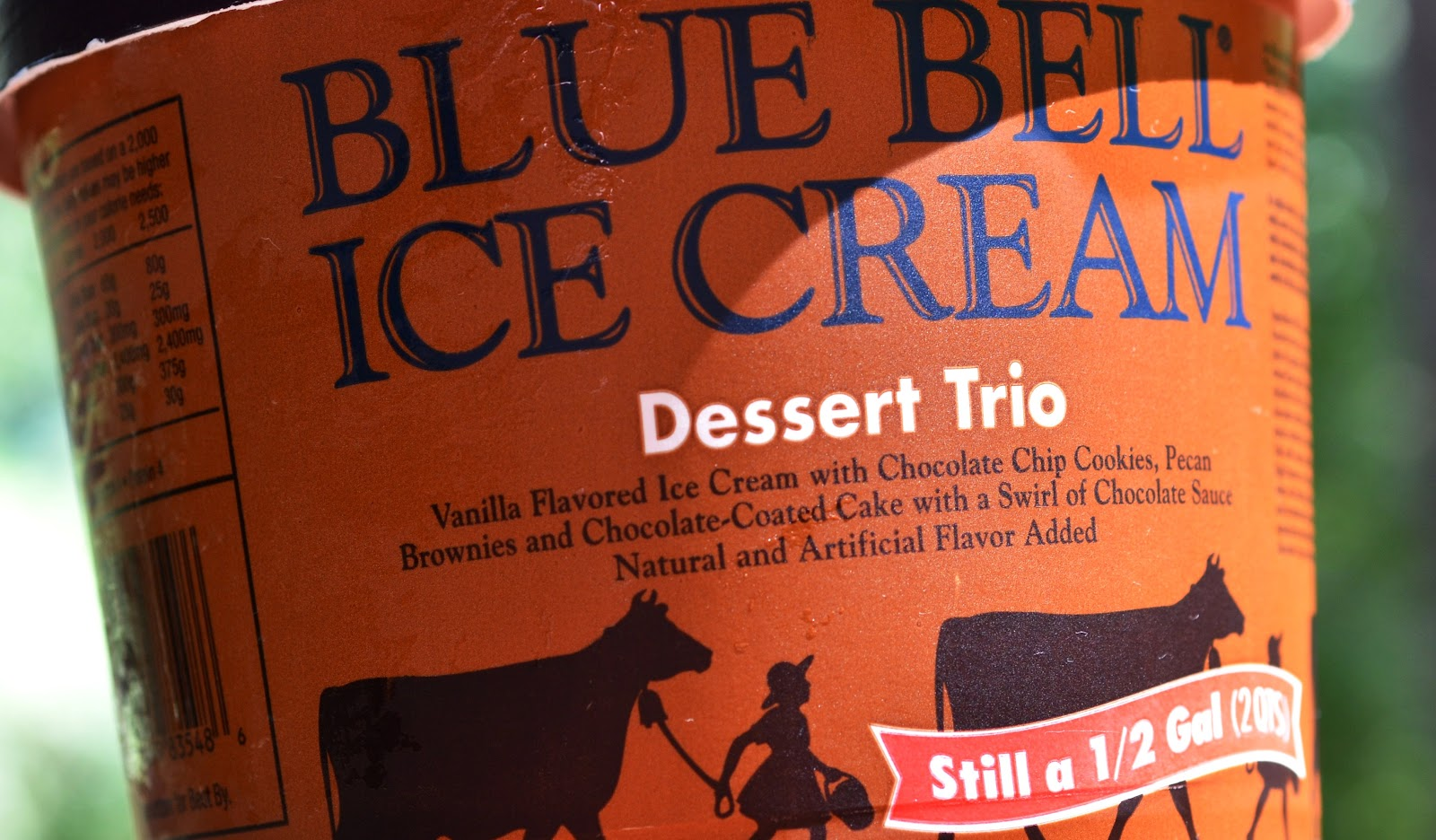 food and ice cream recipes REVIEW Blue Bell Dessert Trio