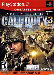 download Call of Duty 3 Special Edition Bonus Disc PS2