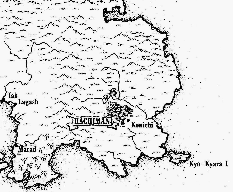 Blank Fantasy Map