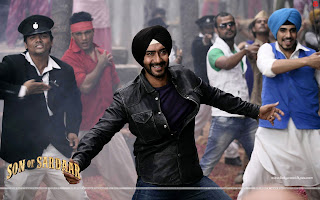 Ajay Devgn Raja Rani Song Wallpaper Son Of Sardaar