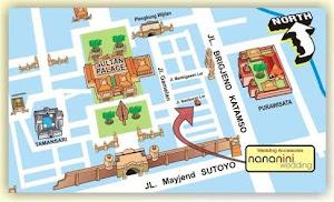 Peta Lokasi Nananini Wedding