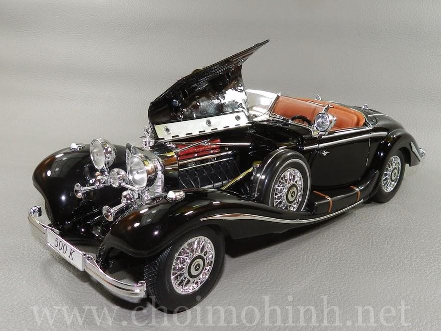 Mercedes-Benz 500 K TYP Specialroaster 1936 1:18 Maisto