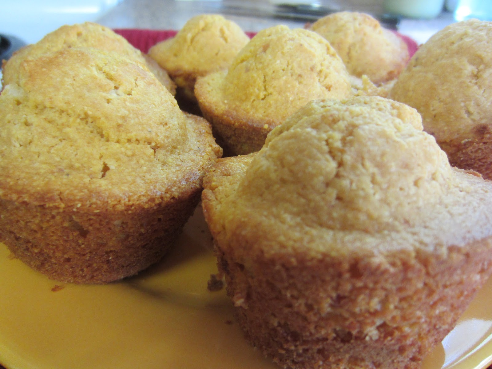 My Patchwork Quilt: JIFFY SWEET POTATO CORNBREAD