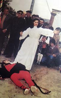 DANCE VERA DE MONCAYO. Lucha entre el demonio y el ángel.