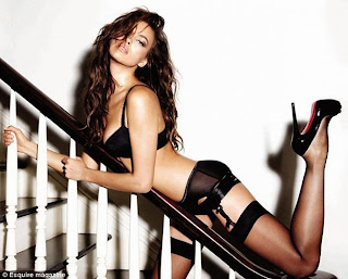 Irina Shayk hot Sheik Russian girl black sheer stockings garters high heels Supermodel Tumblr HD HQ pics