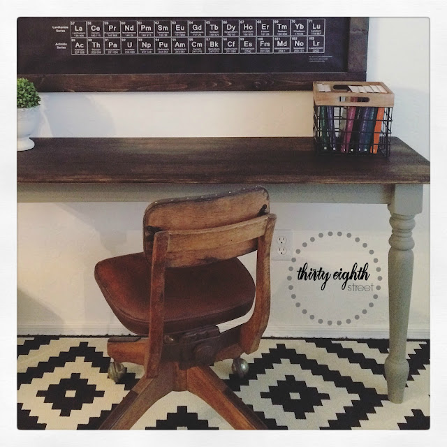 farm table, gray chalk paint, how to stain a table top, repurposing furniture