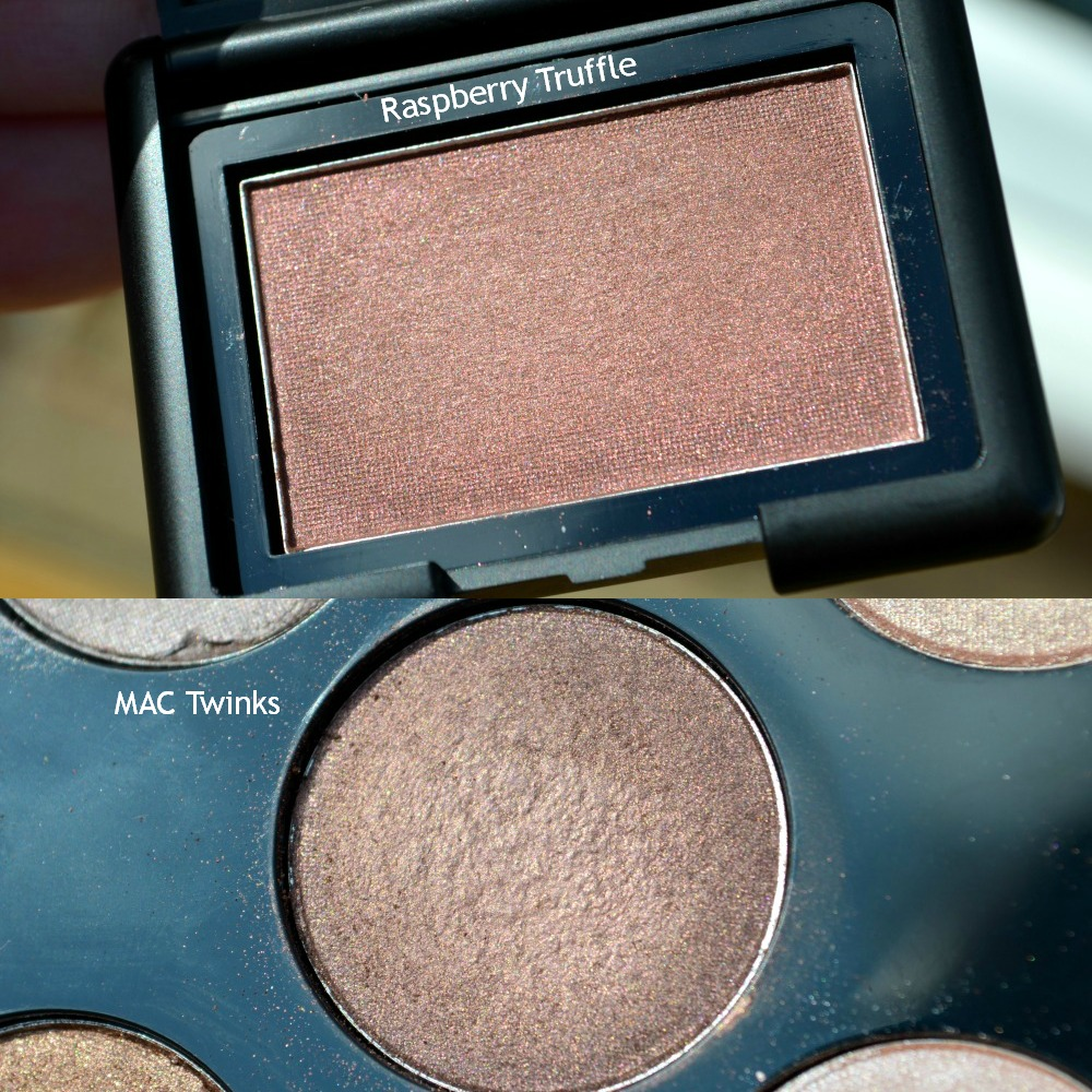 e.l.f. Studio 'Raspberry Truffle' Single Eyeshadow | MAC Twinks Dupe