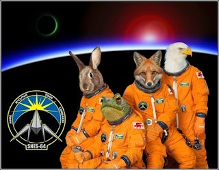 star fox space crew Morning (Afternoon?) LOL