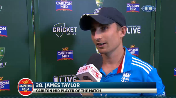 James-Taylor-Man-of-the-Match-England-vs-India-Triseries-2015