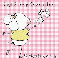 Digi Stamp Characters by Heather Ellis