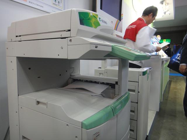 Copiadora revolucionaria reutiliza papel