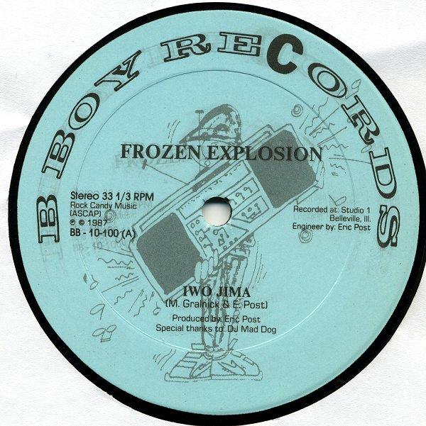 Frozen Explosion Iwo Jima Babs