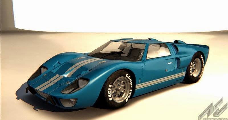 the sim review assetto corsa mods ford gt 40 mk 2. Black Bedroom Furniture Sets. Home Design Ideas