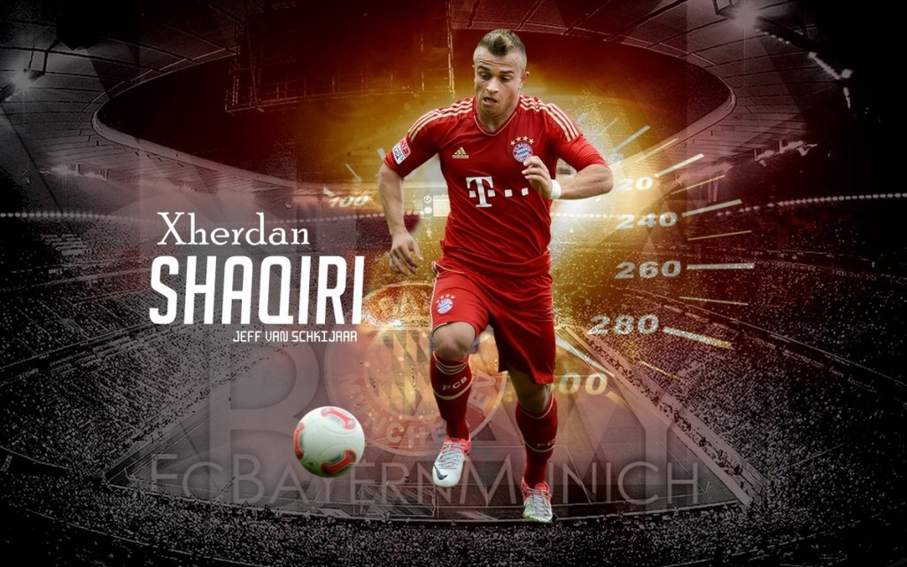 Xherdan Shaqiri 2013 Wallpapers