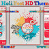 Holi Fest live HD Theme For Nokia X2-00, X2-02, X2-05, X3-00, C2-01, 206, 208, 301, 2700 & 240×320 Devices
