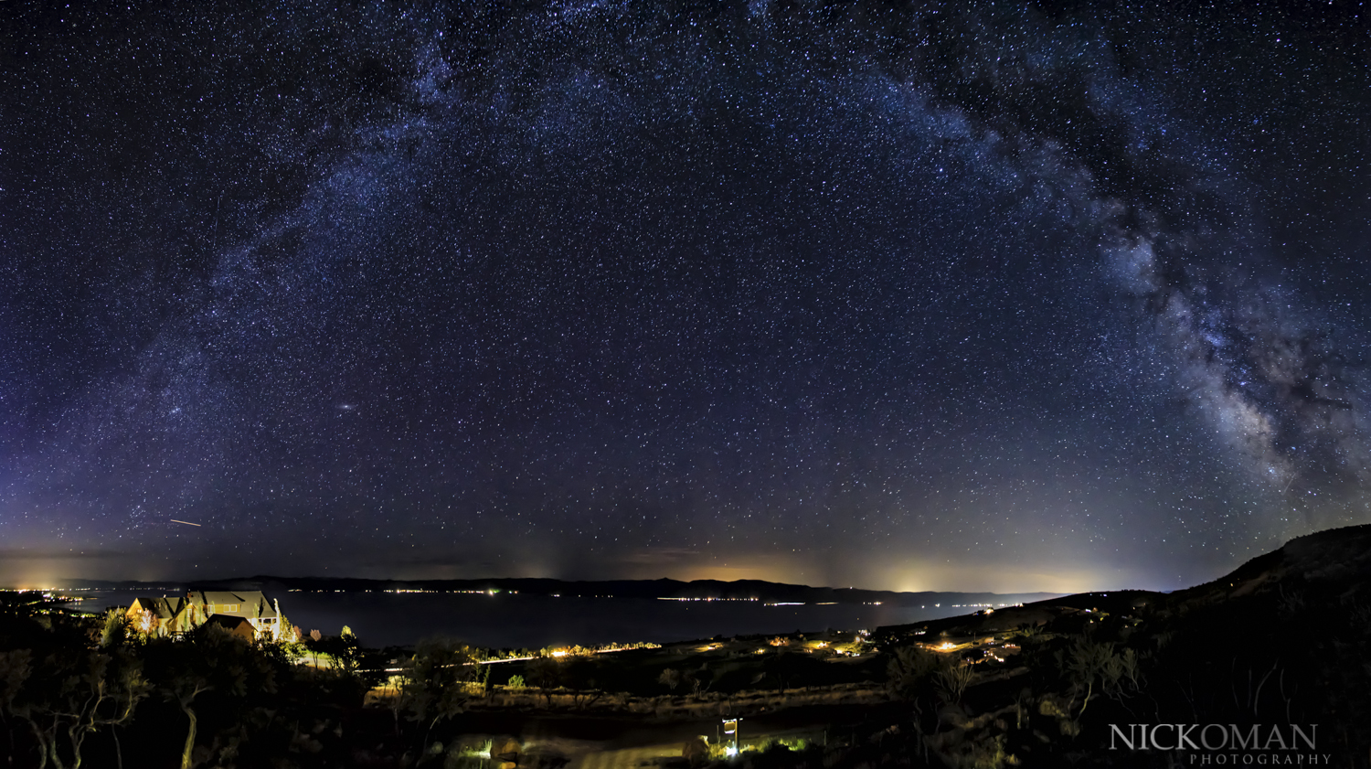 Night photography by Nick Oman Photography