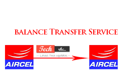 Aircel Balance Transfering USSD Code 2015