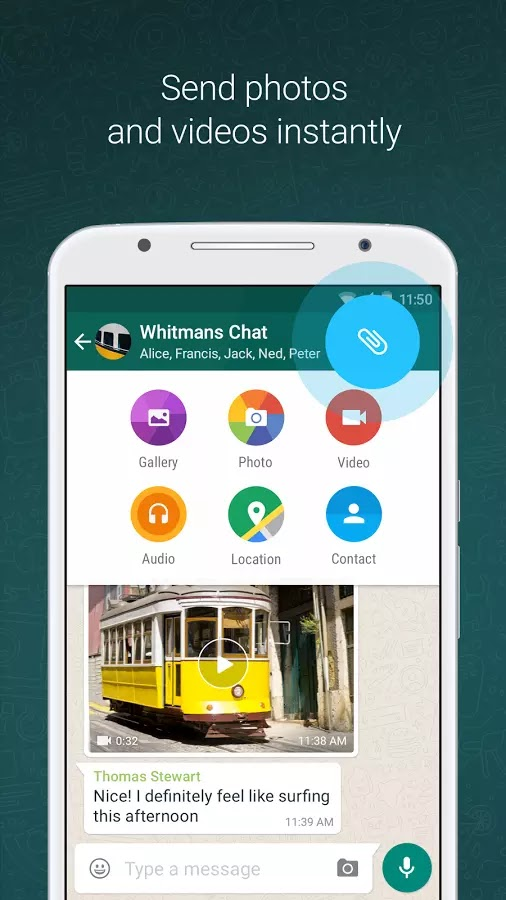 Download WhatsApp Messenger v2.12.396 Apk For Android
