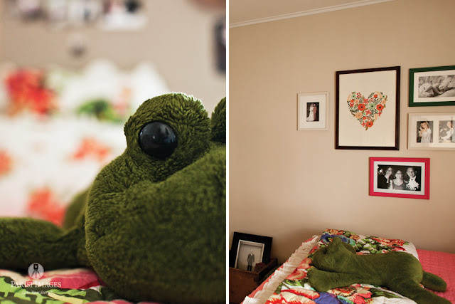 stuffed_frog_pink_green_bedroom_decor this beautiful life farm blog
