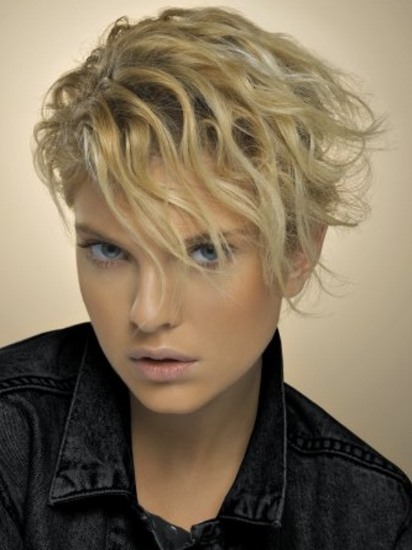 Trendy Curly Short Hairstyles 2015