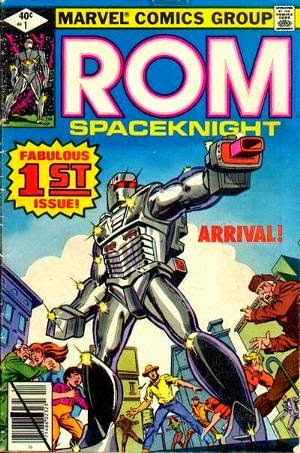 Rom Spaceknight #1 image pic