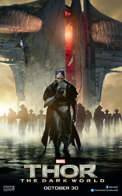 Thor: The Dark World Christopher Eccleston as Malekith Walking Character Banner