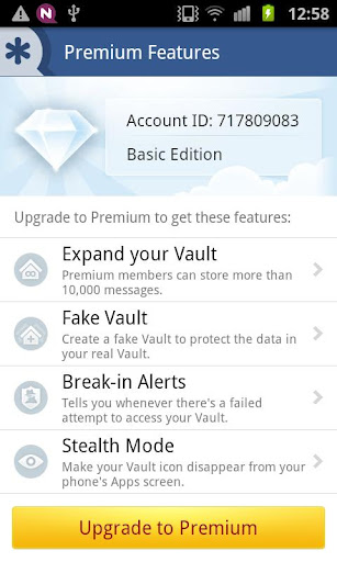Opinions about Vault-Hide SMS Pics & Videos