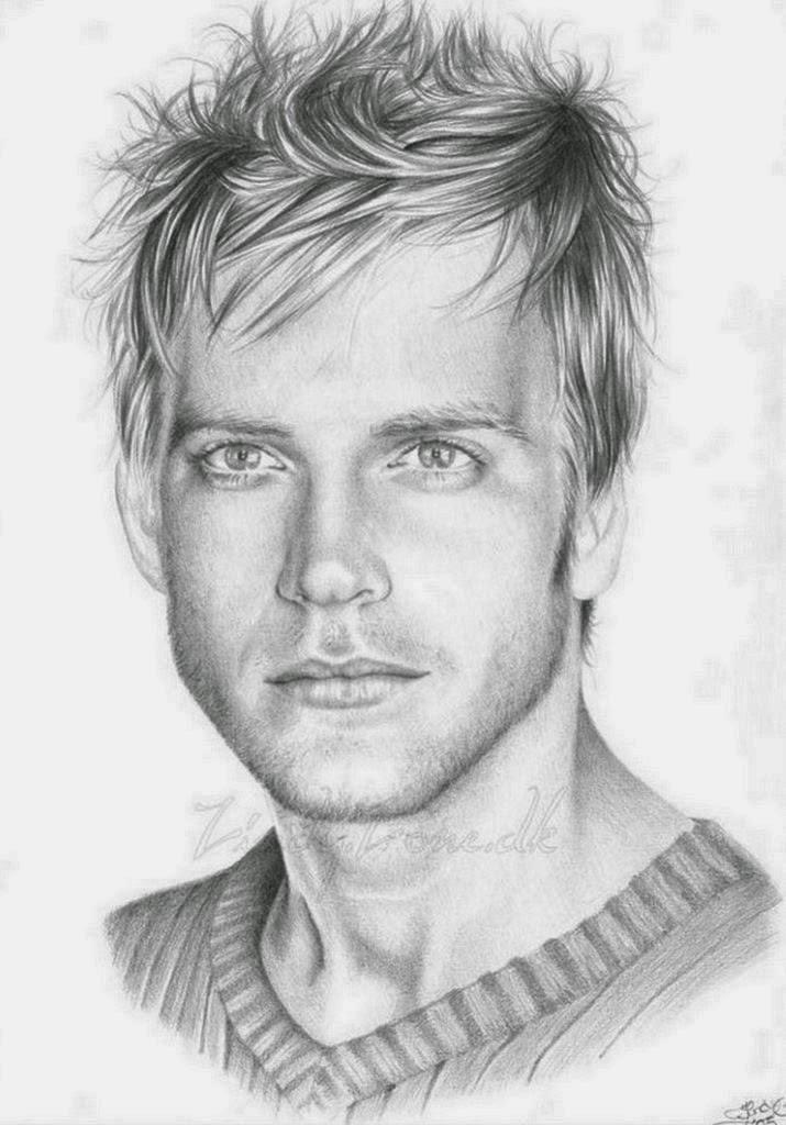 rostros-masculinos-dibujos-a-lapiz